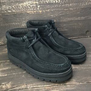 Stacy Adams Black Leather Chukka Boots Size 8M